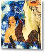 Dream Of The Fisherman's Wife Metal Print