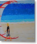 Dreamer Disease Vi Water And Wind Metal Print