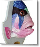 Dreamfish Trophy Metal Print by Artem Efimov
