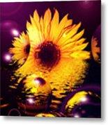 Dreams 4 - Sunflower Metal Print