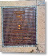 Drinking Water Metal Print