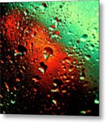 Droplets Vii Metal Print