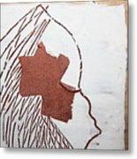 Drowsy - Tile Metal Print