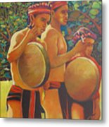 Drumbeat Of The Kalinago Metal Print