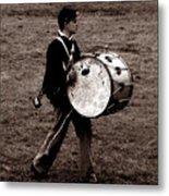 Drummer Boy Metal Print