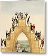 Drunkards Progress, 1846 Metal Print