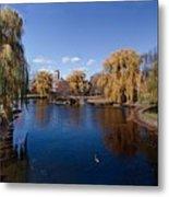 Duck Pond Public Gardens Boston Massachusetts Metal Print