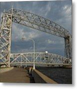 Duluth Lift Bridge 2 Metal Print