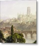 Durham Cathedral Metal Print by George Arthur Fripp