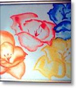 Dutch Roses Metal Print