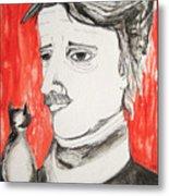 E. A. Poe Metal Print