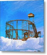 E Ticket Ride Metal Print