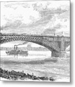 Eads Bridge, St Louis Metal Print