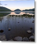 Eagle Lake Dusk Reflections Metal Print
