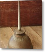 Eagle Oil Can Metal Print