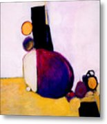 Early Blob Having A Ball Metal Print