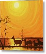 Early Dusk Metal Print