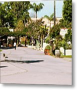 Early Morning At Old Town San Diego Metal Print