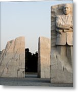 Early Morning At The Martin Luther King Jr Memorial - Washington Dc Metal Print by Brendan Reals
