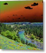 Early Morning Thoughts Metal Print