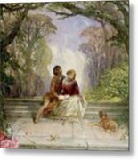 Early Summer Metal Print by Alfred Woolmer