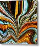 Earth Bloom Metal Print