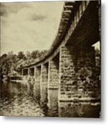 East Falls Rail Road Bridge Metal Print