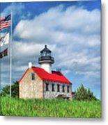 East Point Lighthouse Nj Metal Print