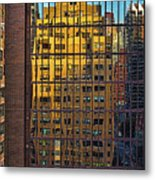 East Side Reflection Metal Print