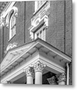 Eastern Kentucky University Crabbe Library Detail Metal Print by University Icons