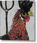 Egg Zactly Metal Print