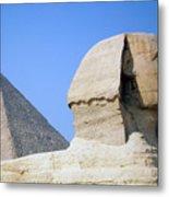 Egypt - Pyramids Abu Alhaul Metal Print