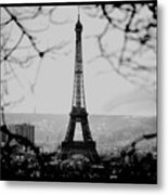 Eiffel Eyeful Metal Print