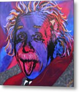 Einstein-professor Metal Print