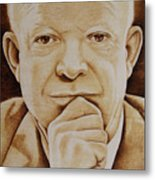 Eisenhower - The Man  Metal Print