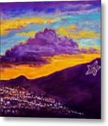 El Paso's Star Metal Print by Candy Mayer