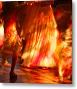 Electric Dance Metal Print