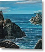 Elephant Cove Metal Print