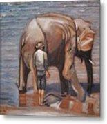 Elephant Man Metal Print
