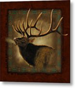 Elk Lodge Metal Print