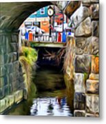 Ellicott City Bridge Arch Metal Print