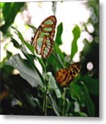 Emerald Beauty Metal Print
