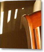 Empty Chair Metal Print