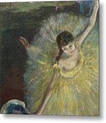 End Of An Arabesque Metal Print by Edgar Degas