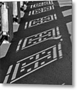 Endless Walkway Metal Print