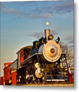 Engine 509 At Crossville Tennessee Puffing Metal Print