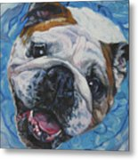 English Bulldog Metal Print
