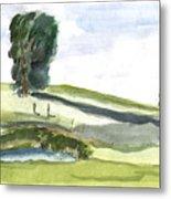 English Countryside Metal Print
