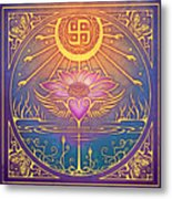 Enlightenment Metal Print by Cristina McAllister