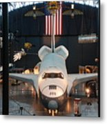Enterprise Space Shuttle Metal Print by Renee Holder
